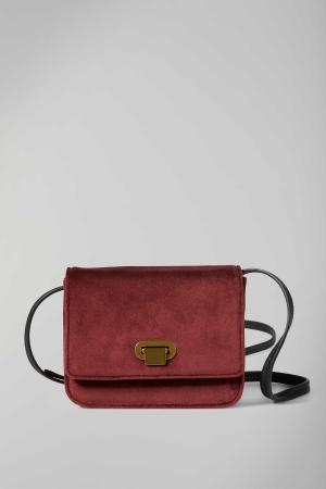 Marc O'Polo Daria Polyester-Umhängetasche burgundy red rot kaufen