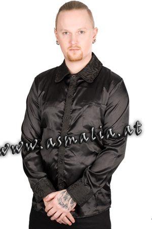 Classic Shirt Glossy Brocade Asmalia Gothic Shop