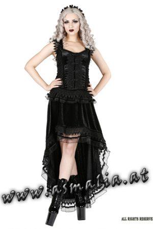 Sinister Vokuhila Samtrock 1003 Asmalia Gothic Shop