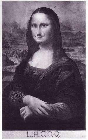 Marcel Duchamp - Mona Lisa LHOOQ