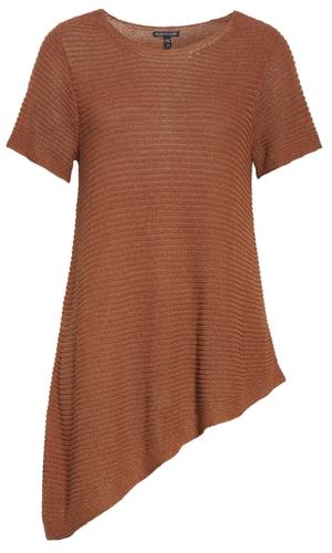 asymmetrical tunic | 40plusstyle.com
