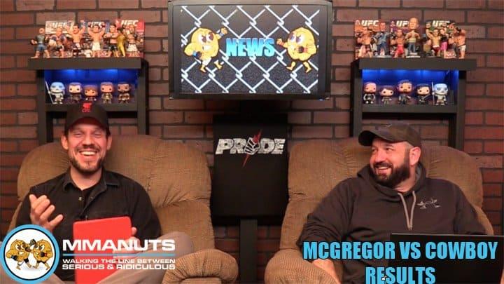 McGregor vs Cowboy Results | UFC 246 | MMANUTS MMA Podcast | EP # 459