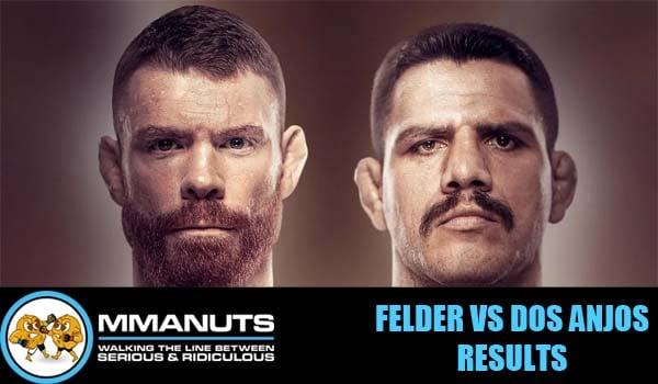 UFC Felder vs Dos Anjos Results | MMANUTS MMA Podcast | EP # 499