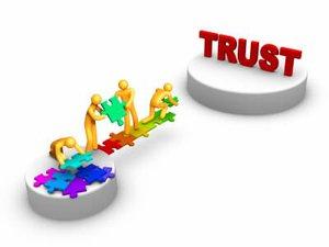building a bridge of trust