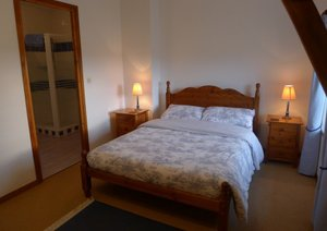 Bedroom photo of a normandy gite