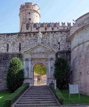 Trento - Castello del Buonconsiglio - Entrata (foto Roberto Zeni)