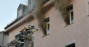 Wohnungsbrand Claude-Lorrain-Straße München Giesing Quelle Foto Branddirektion München