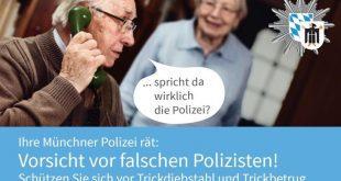 Kampagne falsche Polizisten Quelle Grafik Polizei München