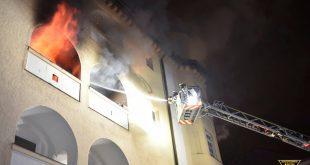 Wohnungsbrand Destouchestraße