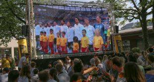 Fußball-WM 2018 Public Viewing Nockherberg Deutschland - Mexiko