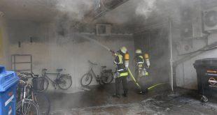 Brand in der Nähe der Nähe vom Oktoberfest Quelle Feuerwehr München