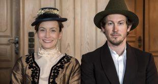 Brautpaar Vorstadt-Hochzeit im Hofbräuhaus 2019, Kathrin Anna Stahl und Stefan Murr Copyright Foto Bertl Jost
