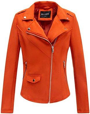 Bellivera faux suede jacket | 40plusstyle.com