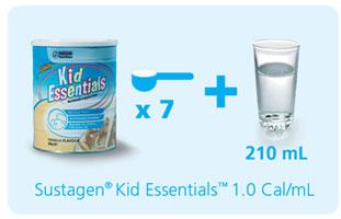 Công thức pha sữa Kid Úc 800g