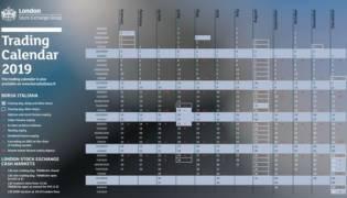 Calendario Borsa Italiana 2020: orari e giorni apertura chiusura negoziazione