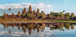 Hlavní chrám v Angkor Wat