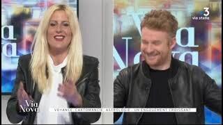 Sophie Vitali invitée de l'émission Via Nova en direct sur Fr3 Via Stella