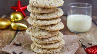 Eggnog Cardamom Cookies {Gluten Free}