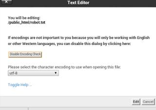 Cara Membuat File Robot txt WordPress Melalui Cpanel