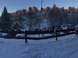 zimní panorama čenkovic