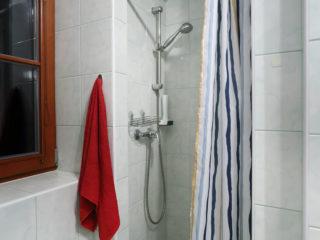 apartmán 5 - sprchový kout