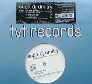 """Supa DJ Dmitry* - Don't Talk Me Down (12"""")"""