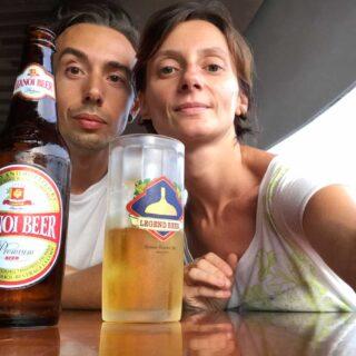 Hanoi Beer, cheers!