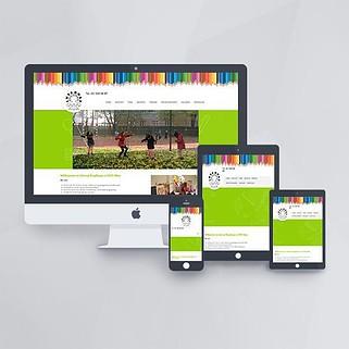 Webdesign - Webseite für das Internat Brigittenau mit WordPress