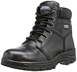 skechers for work women's workshire peril steel toe boot