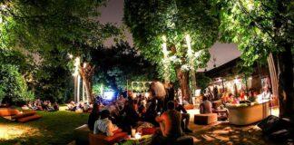 urban garden cocktail party