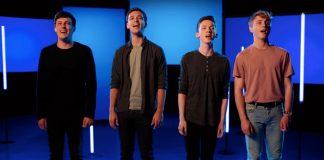 Four handsome Evans