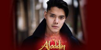 Joaquin Pedro Valdes to play Aladdin