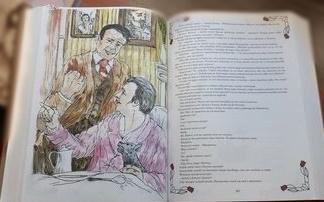 """Grafika ,,Dzieła wybrane""""Tadeusz Dołęga Mostowicz"""