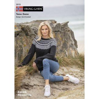 viking-garn-strikkekatalog-2013-dame