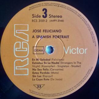 José Feliciano - A Spanish Portrait Of (2xLP, Comp)