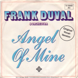 """Frank Duval & Orchestra - Angel Of Mine (7"""", Single)"""