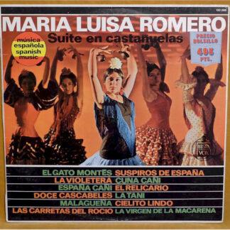 Maria Luisa Romero - Suite En Castañuelas (LP, Album, RE)