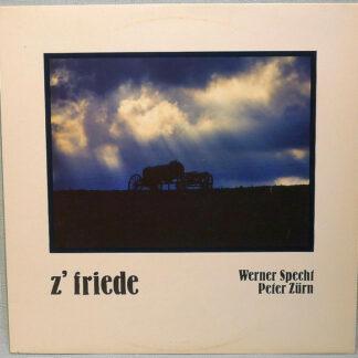Werner Specht, Peter Zürn - z'friede (LP, Album)
