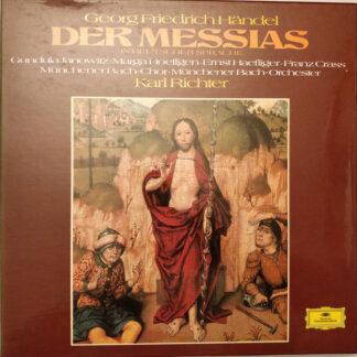 Georg Friedrich Händel, Gundula Janowitz, Marga Hoeffgen*, Ernst Haefliger, Franz Crass, Münchener Bach-Chor, Münchener Bach-Orchester, Karl Richter - Der Messias (3xLP + Box)