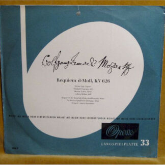 Mozart* - Requiem (LP, Album, Mono)