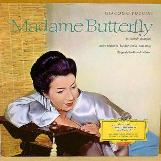 Giacomo Puccini ; Anny Schlemm, Sándor Kónya, Kim Borg, Ferdinand Leitner - Madame Butterfly (LP)