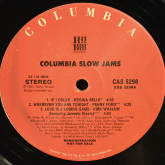 Various - Columbia Slow Jams (12