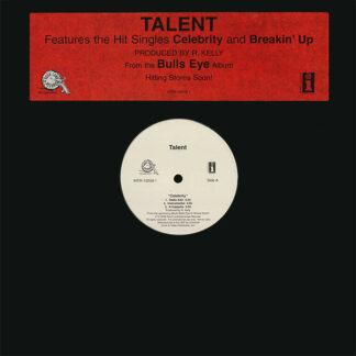 """Talent - Celebrity / Breakin' Up (12"""", Promo)"""