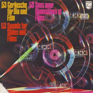 No Artist - 53 Geräusche Für Dia Und Film / 53 Sounds For Slides And Films / 53 Sons Pour Diapositives Et Films (LP)