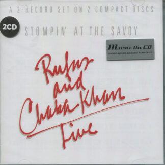 Rufus & Chaka Khan - Live - Stompin' At The Savoy (2xCD, Album, RE)