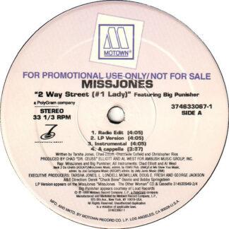 """Missjones* - 2 Way Street (#1 Lady) (12"""", Promo)"""