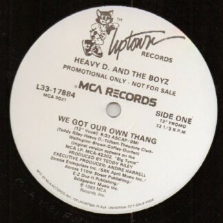 Heavy D. & The Boyz - We Got Our Own Thang (12