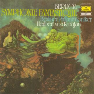Berlioz* · Berliner Philharmoniker · Herbert von Karajan - Symphonie Fantastique (LP, Album, RE)