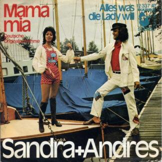 """Sandra + Andres* - Mama Mia (7"""", Single)"""