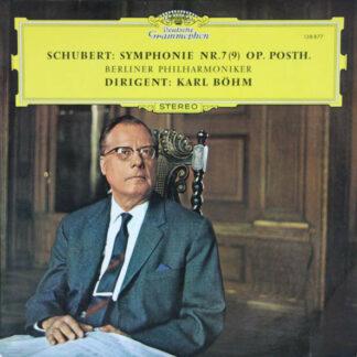 Schubert*, Berliner Philharmoniker, Karl Böhm - Symphonie Nr. 7 (9) Op. Posth. (LP, RE)